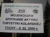 Wojewódzkie Spotkanie Aktywu Turystyki Kolarskiej - 9.02.2008 - Tychy